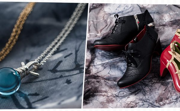 Yu Yu Hakusho shoes and jewelry by Super-Groupies